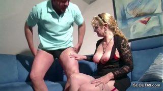 Deutsche Reife Blondine Große Titten
