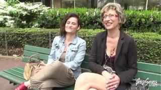 Rentnerin überrascht ihren Mann mit einer jüngeren Frau für einen dreier