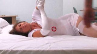 Patient fickt mit seiner Krankenschwester